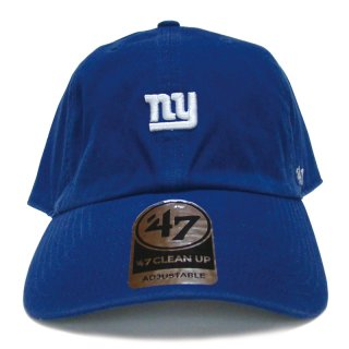"""'47 BRAND """"NEW YORK GIANTS"""" CENTERFIELD CLEAN UP TWILL CAP BLUE"""