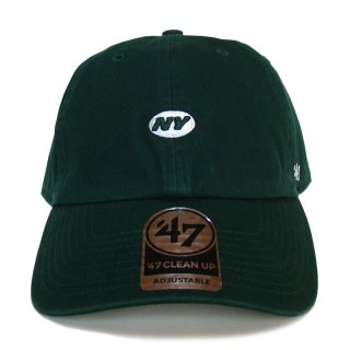 """'47 BRAND """"NEW YORK JETS"""" CENTERFIELD CLEAN UP TWILL CAP GREEN"""