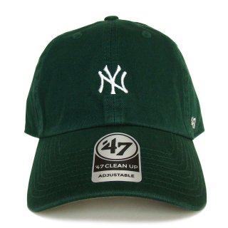 "'47 BRAND ""NEW YORK YANKEES"" CENTERFIELD CLEAN UP TWILL CAP GREEN"