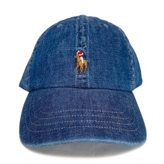 POLO RALPH LAUREN 6 PANEL CAP DENIM