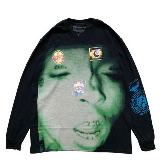 XXXTENTACION MOONLIGHT LONGSLEEVE TEE BLACK