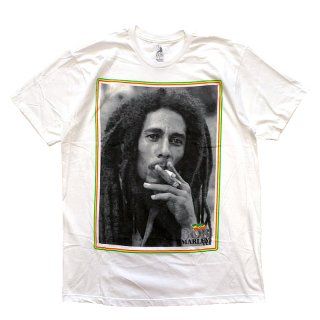 BOB MARLEY OFFICIAL LICENSE TEE WHITE