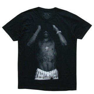 2PAC OFFICIAL LICENSE TEE BLACK