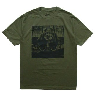2PAC OFFICIAL LICENSE TEE OLIVE DRAB