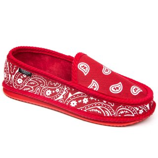 TROOPER HOUSE SHOES RED