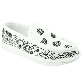 TROOPER HOUSE SHOES WHITE