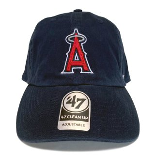 """'47 BRAND """"LOS ANGELES ANGELS"""" CLEAN UP TWILL CAP NAVY"""