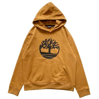 TIMBERLAND TREE LOGO PULLOVER PARKA WEAT