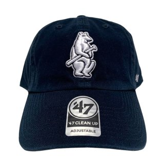"""'47 BRAND """"CHICAGO CUBS"""" CLEAN UP TWILL CAP NAVY"""