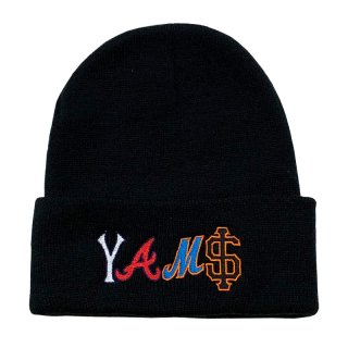 WE ARE LITTLE GIANTS x YAMS DAY YAMS LETTER BEANIE BLACK