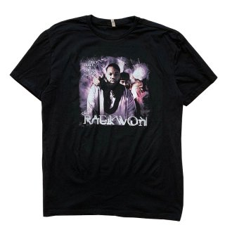 RAEKWON ONLY BUILT 4 CUBAN LINX... PT. II TEE BLACK