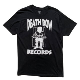 DEATH ROW RECORDS TEE BLACK