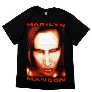 MARILYN MANSON BIGGER THAN SATAN TEE BLACK