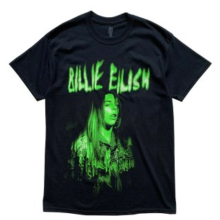 BILLIE EILISH OFFICIAL TEE BLACK LIME