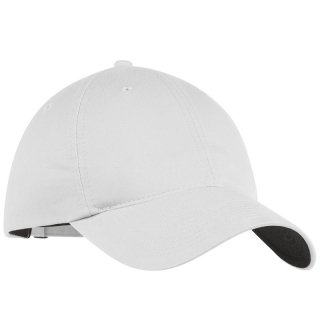NIKE GOLF UNSTRUCTURED TWILL CAP WHITE