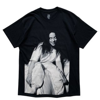 BILLIE EILISH WHITE EYES TEE BLACK