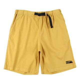 FIRST DOWN WASHED CHINO SHORT PANTS MUSTARD