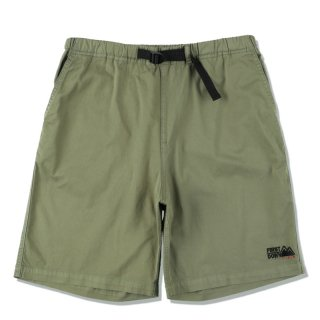 FIRST DOWN WASHED CHINO SHORT PANTS OLIVE