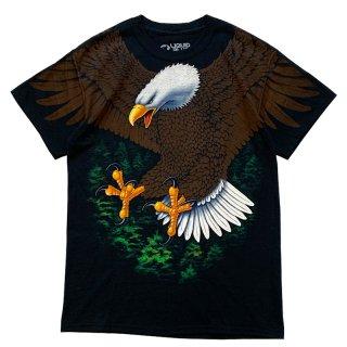 LIQUID BLUE EAGLE TEE BLACK