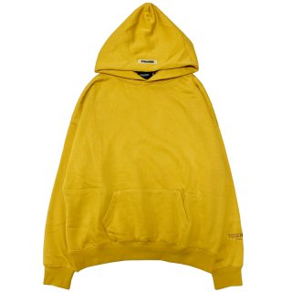 FOG ESSENTIALS COMPLEXCON EXCLUSIVE LONG BEACH PULLOVER HOODIE GOLD