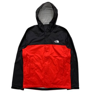 THE NORTH FACE M VENTURE 2 JACKET FIERY RED TNF BLACK