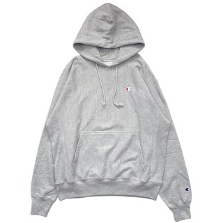 CHAMPION REVERSE WEAVE PULLOVER HOODY OX GREY