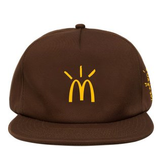TRAVIS SCOTT x McDonald's CACTUS ARCHES CAP BROWN