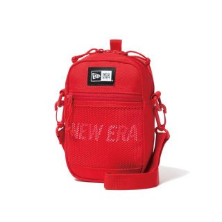 NEW ERA SHOULDER POUCH 1.7L PRINT LOGO RED WHITE