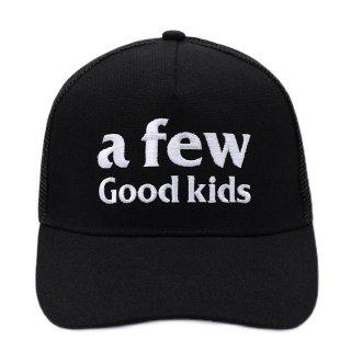 A FEW GOOD KIDS BASIC LOGO CAP BLACK