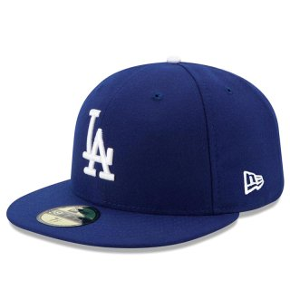 NEW ERA 59FIFTY OLD AUTHENTIC LOS ANGELS DODGERS DARK ROYAL