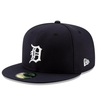 NEW ERA 59FIFTY OLD AUTHENTIC DETROIT TIGERS NAVY