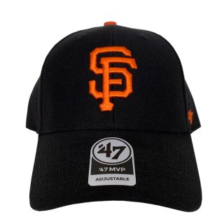 "'47 BRAND ""SAN FRANCISCO GIANTS"" MVP CAP BLACK"