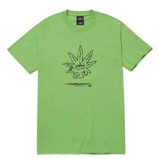 HUF 420 COLLECTION EASY GREEN TEE GREEN