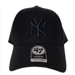 "'47 BRAND ""NEW YORK YANKEES"" MVP CAP BLACK"