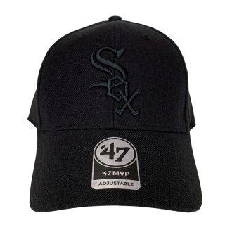 "'47 BRAND ""CHICAGO WHITE SOX"" MVP CAP BLACK"