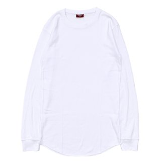 CITY LAB FITTED THERMAL CREW SHIRT WHITE