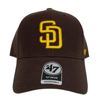"""'47 BRAND """"SAN DIEGO PADRES"""" MVP CAP BROWN"""