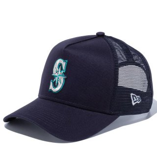 NEW ERA 9FORTY A-FRAME TRUCKER SEATTLE MARINERS NAVY