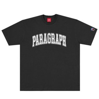 PARAGRAPH OLD CLASSIC TEE BLACK