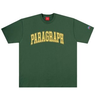 PARAGRAPH OLD CLASSIC TEE GREEN