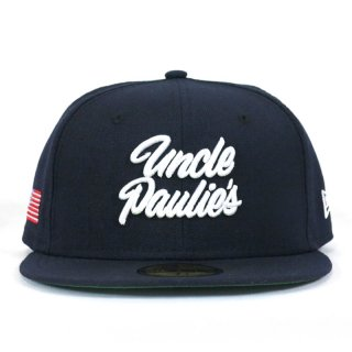 UNCLE PAULIE'S NEW ERA 59FIFTY NAVY WHITE