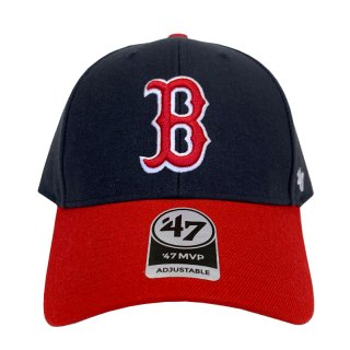 "'47 BRAND ""BOSTON RED SOX"" MVP CAP NAVY RED"