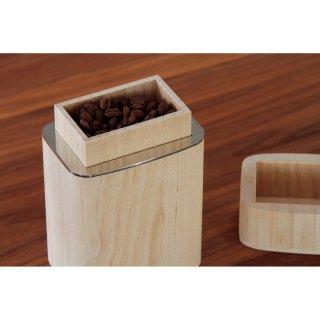 KIRI Coffee Canister(キリ コーヒー キャニスター)<木地仕上げ/100g>