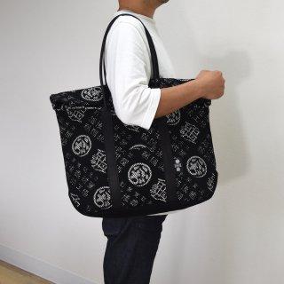 刺子織トートバッグ(モノグラム)