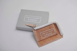 NIBE LEATHER®産業廃棄物 WALLET SMALL