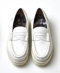 HONESTY WHITE  LOAFERS