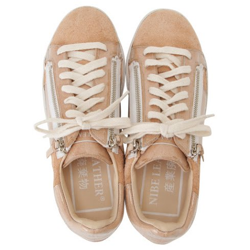 NIBE LEATHER 産業廃棄物 sneaker
