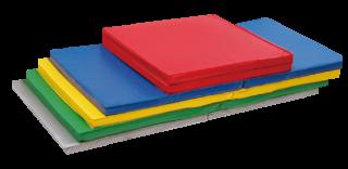 軽量折式カラーマット L-621(抗菌、防炎、防水) - スポーツ・アクティビティ製品のバックヤード