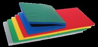 すべり止めつき 軽量折式カラーマット L-622(抗菌、防炎、防水)