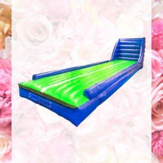 エアートランポリン ストレート・ウォール 一体タイプ 10m(送風機セット) - スポーツ・アクティビティ製品のバックヤード